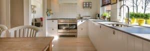 aménagement d'une cuisine en longueur