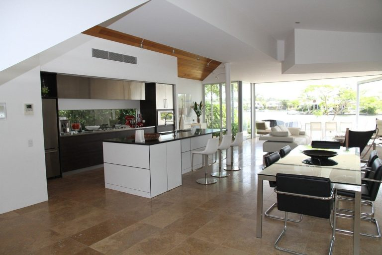 Où placer la cuisine dans une maison ?