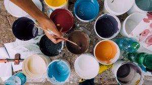 Qu'est-ce qu'une peinture satinée ?